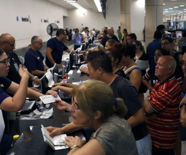 Hundreds stranded at Puerto Rico airport; Ryan pledges aid