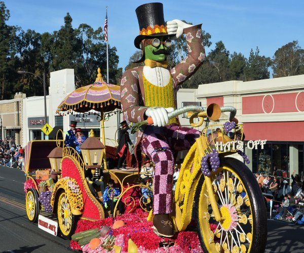 Moments from the 129th Tournament of Roses parade
