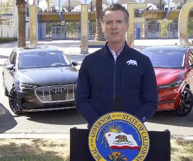 California to ban the sale of gasoline-powered cars by 2035