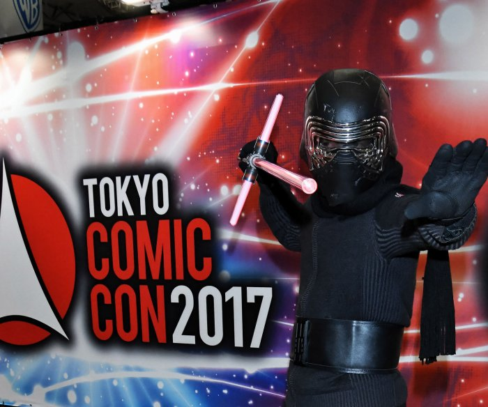 Fans dress up in costume at Tokyo Comic Con