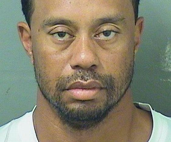 Tiger Woods arrested for DUI in South Florida