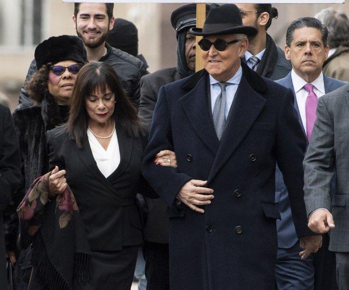 President Donald Trump commutes Roger Stone's sentence