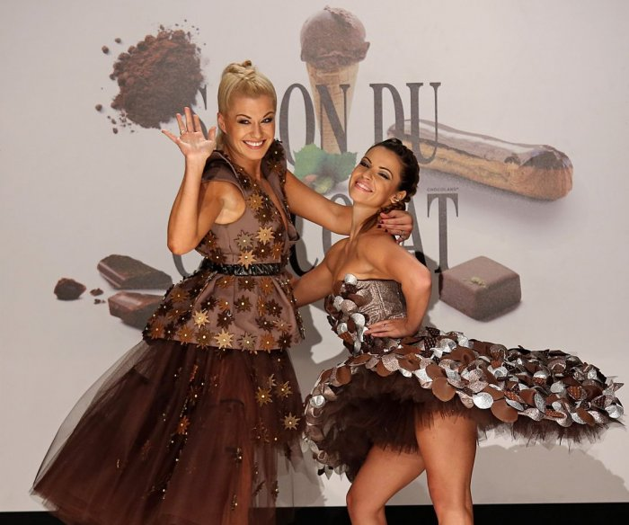 On the runway at the 22nd annual Salon du Chocolat in Paris