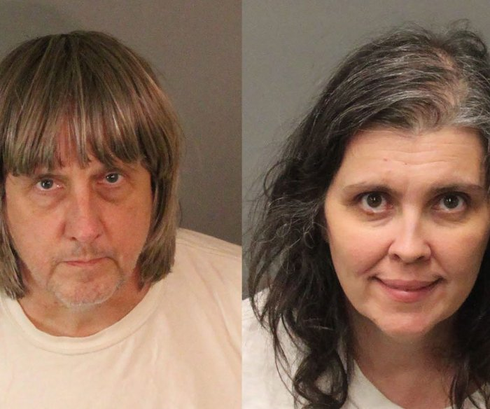 Calif. parents of 13 children plead guilty to abuse