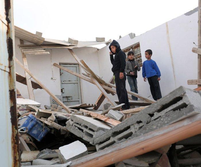 Israel strikes Hamas targets in Gaza Strip, 3 injured