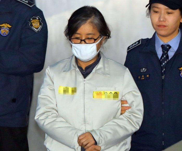 Confidante of South Korea's ex-president faces 25 years behind bars