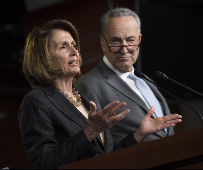 Democratic leaders to Trump: Drop border wall plans