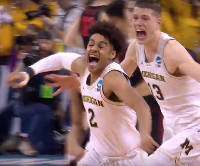 March Madness: Michigan hits buzzer-beater to beat Houston