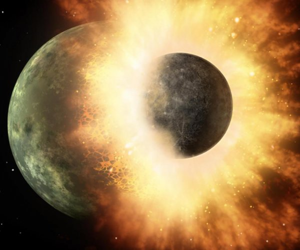 Experts: Collision that formed moon also put water on Earth