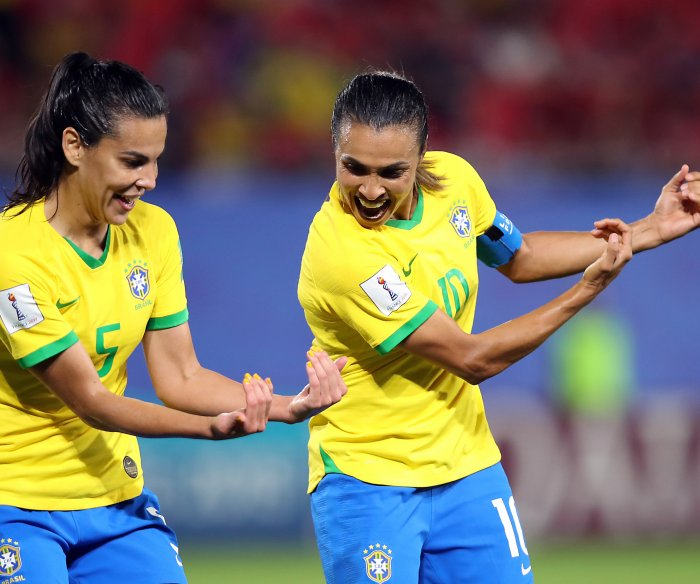 Women's World Cup Twitter trends: Brazil's Marta most popular player