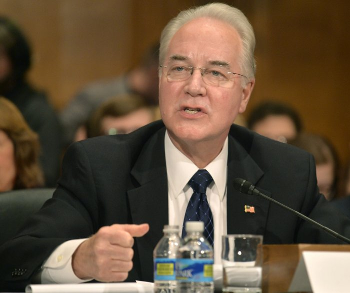 Tom Price: GOP goal not to take insurance away from Americans