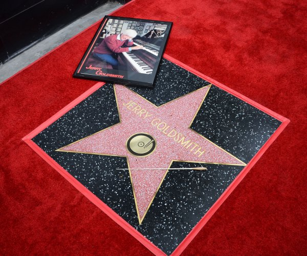 Composer Jerry Goldsmith receives posthumous star on Walk of Fame