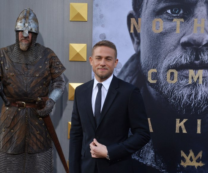 Charlie Hunnam, Eric Bana attend 'King Arthur' premiere in Los Angeles