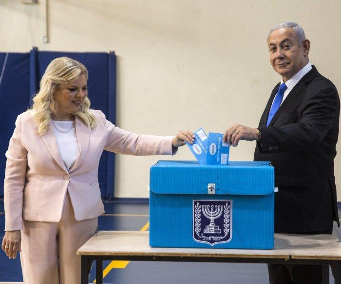 Netanyahu, Gantz square off again as Israel reruns election