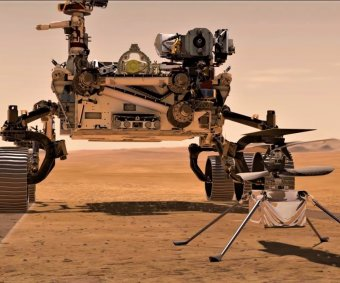 Mars helicopter's new photos will determine rover's path
