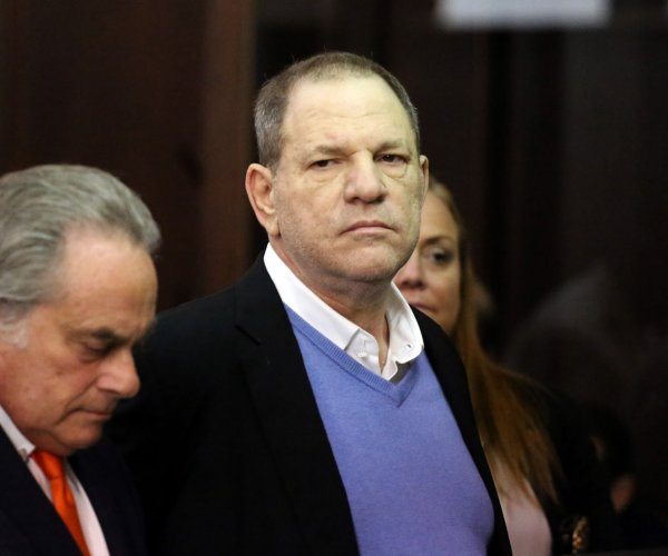 Harvey Weinstein charged with felony rape, criminal sex act