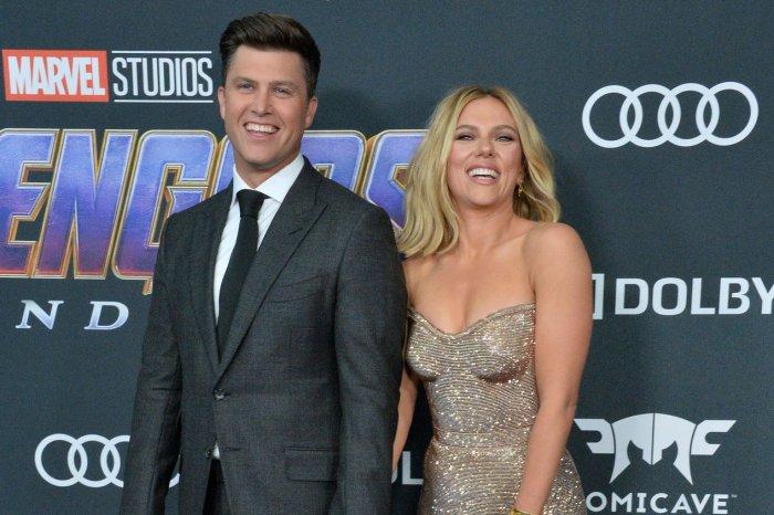 Scarlett Johansson, Brie Larson attend 'Avengers' premiere