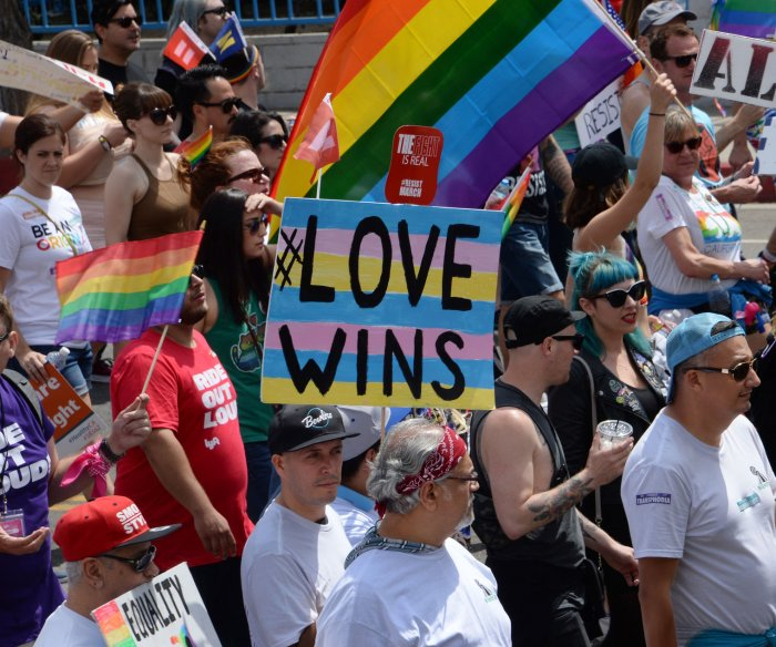 LA replaces Pride parade with #ResistMarch