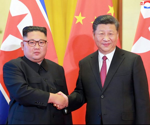 China's Xi Jinping arrives in Pyongyang for summit with Kim Jong Un