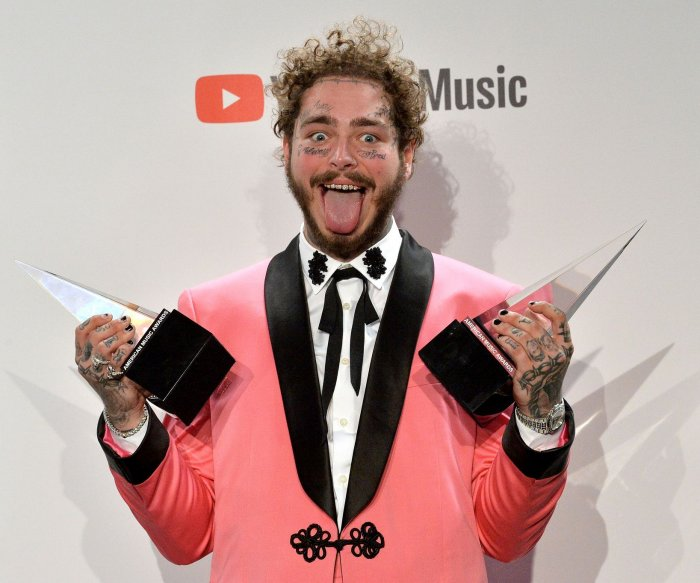 Post Malone's 'Hollywood's Bleeding' tops U.S. album chart
