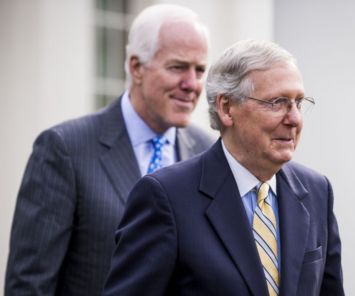 GOP senators aim to get re-worked health bill ready by Friday