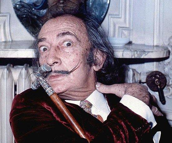Exhumation shows Salvador Dalí's mustache intact