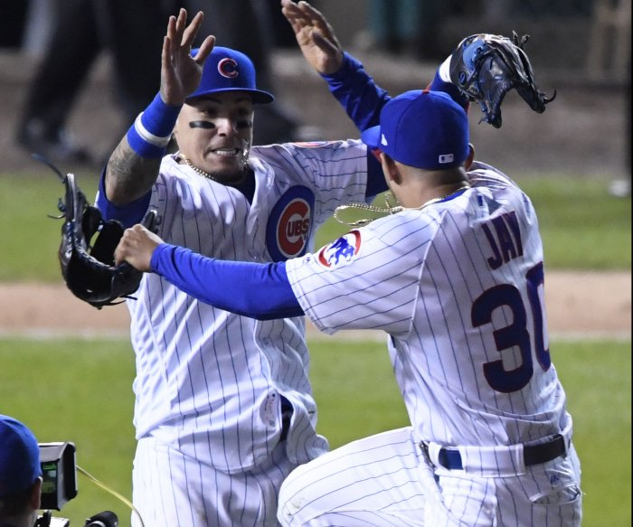 Baez bashes two HRs as Cubs stay alive in NLCS
