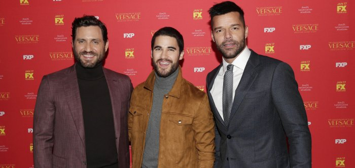 Darren Criss, Ricky Martin attend 'The Assassination of Gianni Versace: American Crime Story' screening