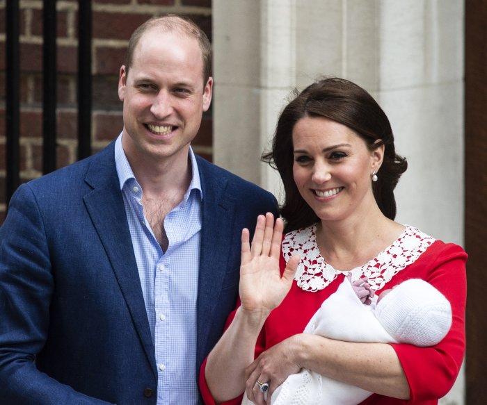 Kensington Palace: Photos from Prince Louis' christening