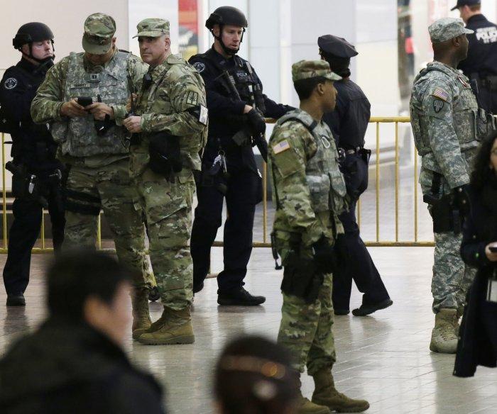 'Terrorist' explosion in Manhattan injures 4; suspect arrested