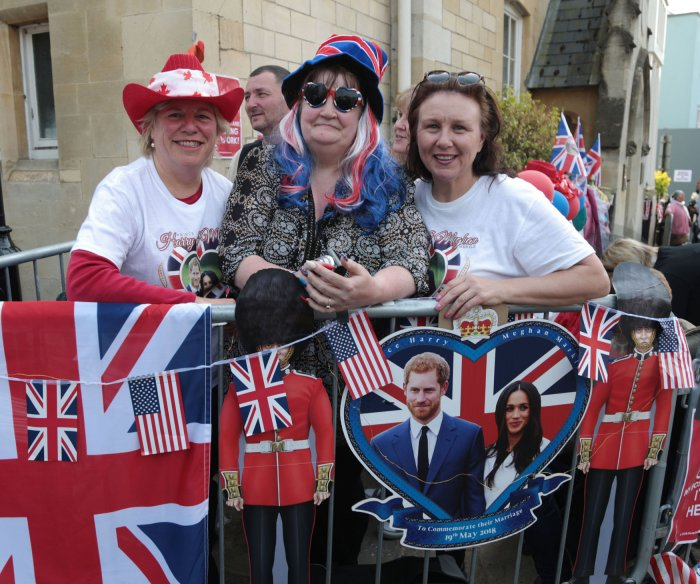 Royal fans anticipate wedding of Prince Harry and Meghan Markle