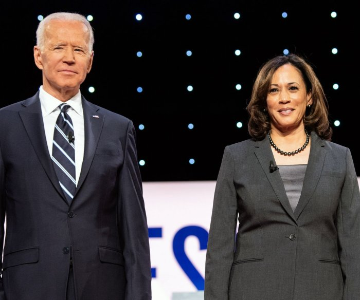 In 1st joint event, Biden and Harris denounce Trump's COVID response