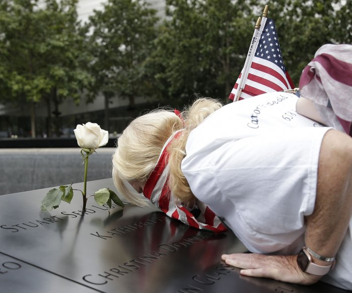 U.S. marks 19th anniversary of Sept. 11 attacks