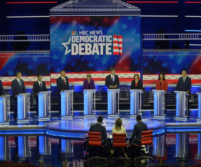 First Democratic debate features heated discussions on healthcare, immigration