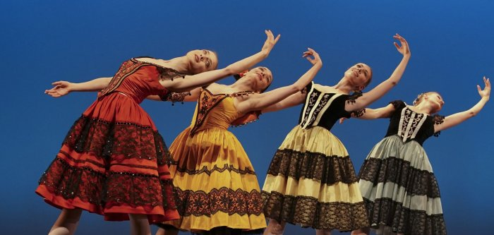 Royal Danish Ballet rehearses for 'The Bournonville Legacy'