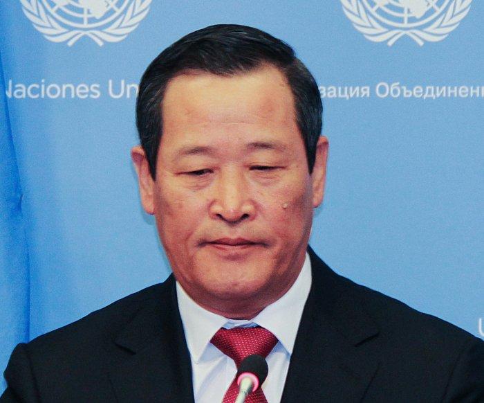 Denuclearization is off the table, North Korean diplomat tells U.N.
