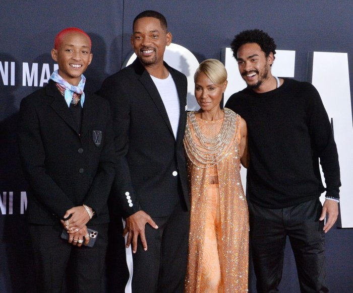 Will Smith, family attend 'Gemini Man' premiere in Los Angeles