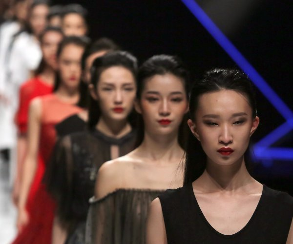 In photos: Tom Dong show at China Fashion Week