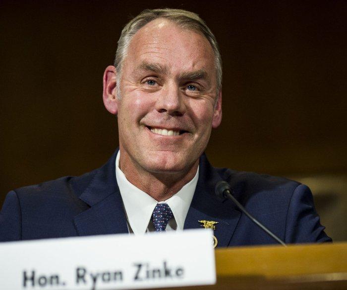 Senate confirms Ryan Zinke as next interior secretary