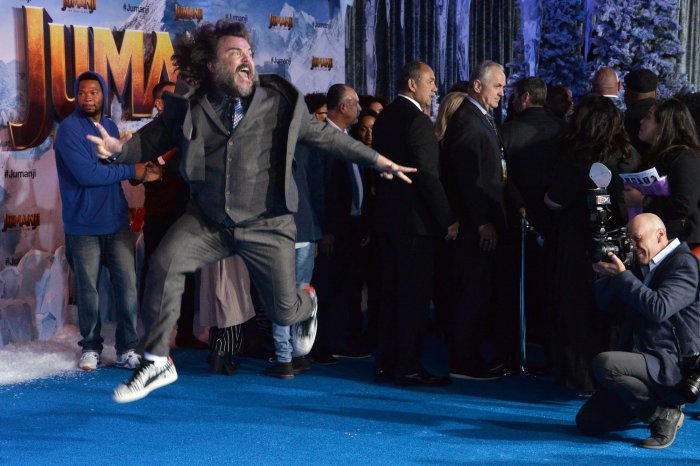 Celebrities get silly on the red carpet