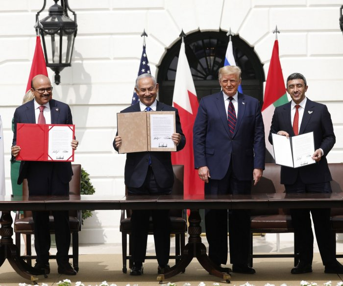 White House hosts signing of Abraham Accord