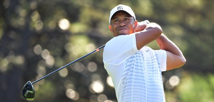 Tiger Woods, Rory McIlroy practice for the Masters