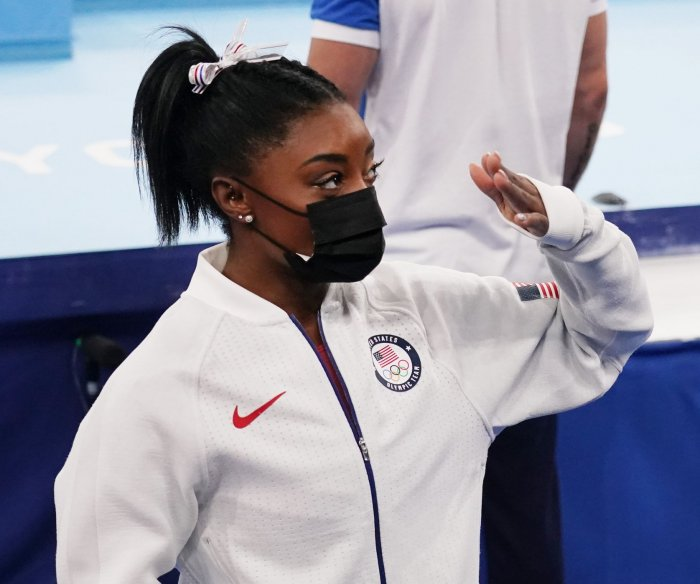 Olympics: USA's Simone Biles pulls out of two more gymnastics events