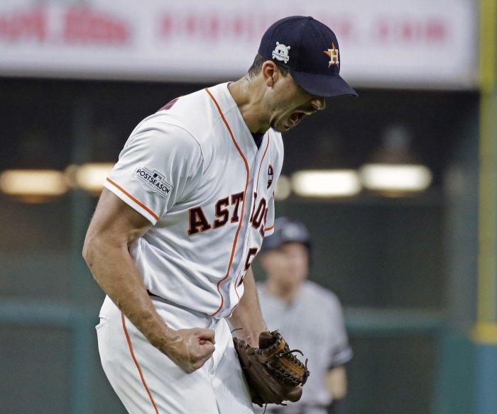 ALCS: Houston Astros blank New York Yankees, advance to World Series