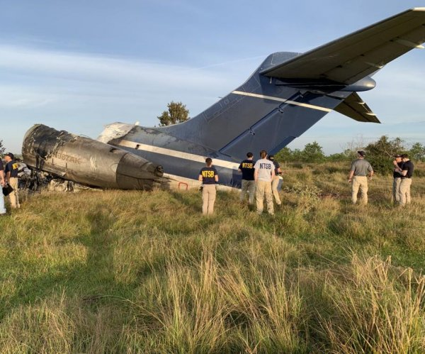 NTSB recovers fire-damaged flight recorders from Texas plane crash