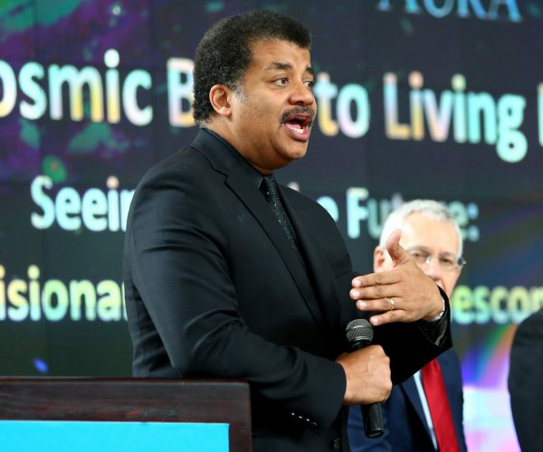 Neil deGrasse Tyson hosts discussion on space telescope
