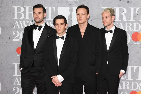 The 1975, Dua Lipa walk Brit Awards red carpet