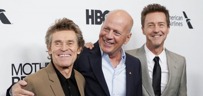 Edward Norton, Bruce Willis attend 'Motherless Brooklyn' premiere