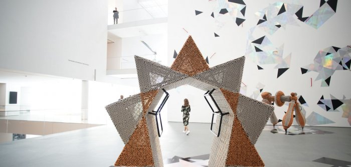 Preview of new MoMA in NYC