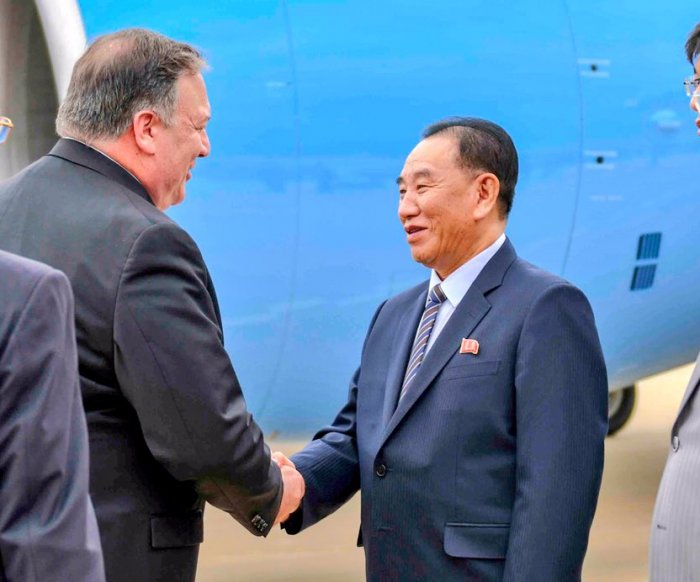 Pompeo asked North Korea about nuclear site activities